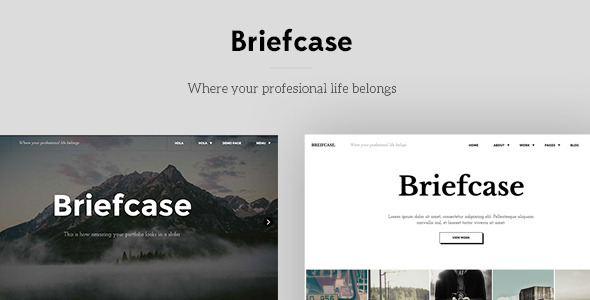 Briefcase WP Theme