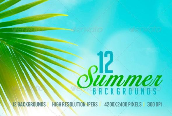 12SummerBackgrounds